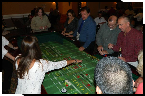 Creative Entertainment Casino Party